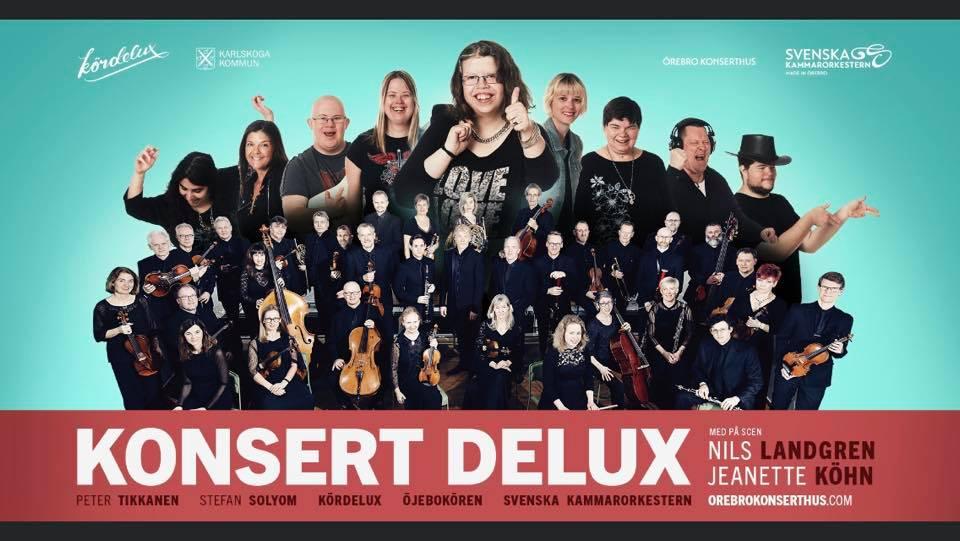 Dokumentärfilm om mötet mellan Kördelux och Svenska Kammarorkestern